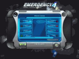 Náhled základního menu hry