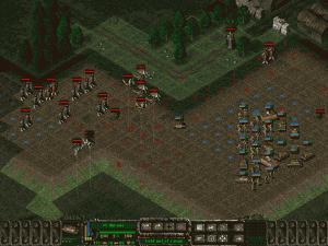 Ukázka herní mapy ve hře