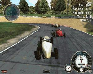 Závodění v rychlých autech