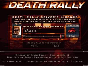 Náhled obrazovky po spuštění hry