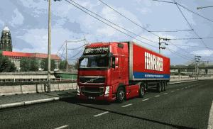 Pohled na nákladní automobil