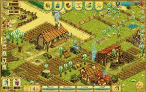 Celkový pohled na farmu hráče
