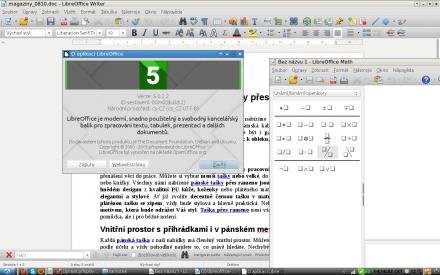 Nový LibreOffice 5.0.2