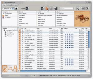 Zobrazení všech multimediálních souborů z IPodu či IPhonu