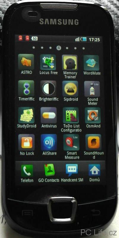 Přehled aplikací v systému Android