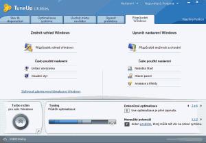 Náhled obrazovky pro přizpůsobení Windows