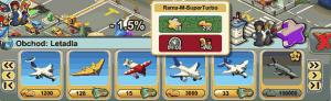 Různé druhy letounů i helikoptér