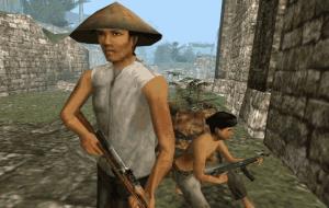 Vietcong vás může snadno obklíčit
