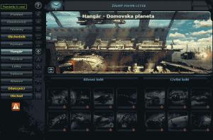 Pro vaši flotilu je důležitý hangár