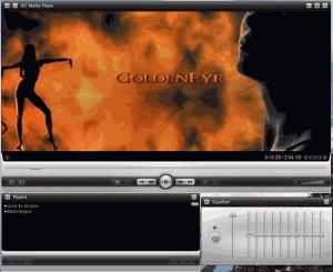 Přehrávání video souborů různých formátů