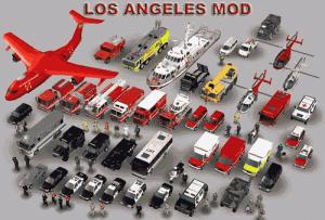 Jednotky v Los Angeles módu do hry