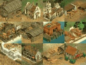 Budovy, které můžete ve hře stavět