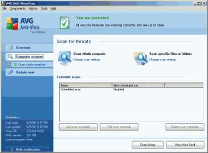 Skenování pro odhalení případných virů