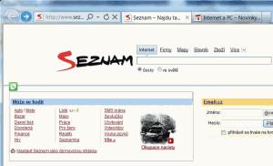Otevření několika panelů v internetovém prohlížeči