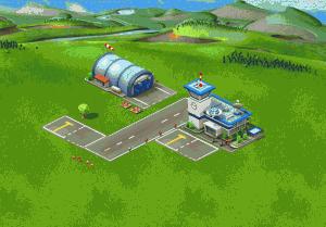 Počáteční velikost letiště