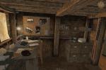 Malá ubytovna v podzemí základny
