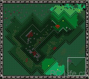 Herní mapa s přehledem jednotek