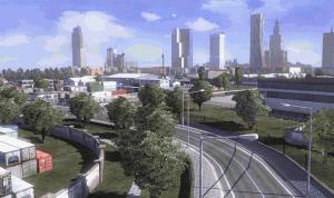 Města jsou zpracována podle skutečnosti