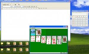 I přes inovace zůstaly některé program stejné od Windows 95