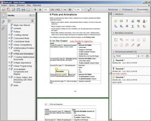 Pro PDF nabízí klasický Adobe Reader kapitoly, anotace v textu a mnoho dalšího