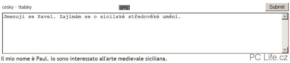 Překlad bývá kvalitní a Babelx si poradí i s gramatickými jevy