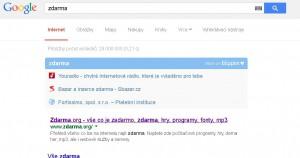 Obohazení výsledků vyhledávání Google Blippexem