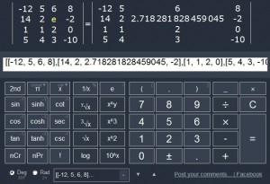 Zadání matice 4x4