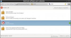 ClamTk nabízí i Centrum softwaru v Ubuntu a jeho odnožích