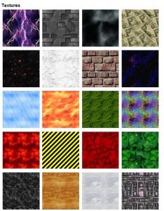 V nabídce jsou desítky nejrůznějších textur