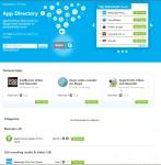 Webová stránka s nabídkou doplňků pro Skype, placené i zdarma