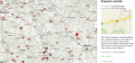 Dopravní mapa s aktuálními informacemi ze silnic a dálnic v ČR
