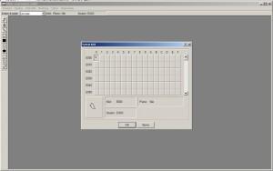 Spuštění aplikace Eudcedit a výběr kódu znaku