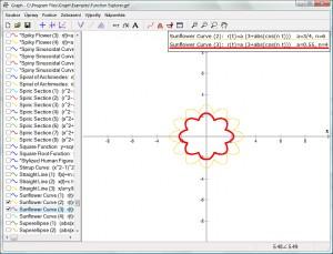 Knihovna funkcí Function Explorer čítá více než 750 vymodelovaných funkcí