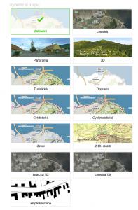 Mapy.cz v novém s rozsáhlou nabídkou map