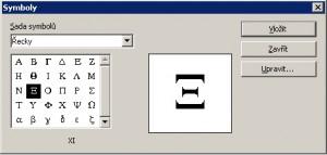 Katalog nabízí nejen řecká písmena