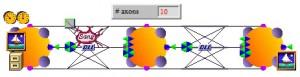 Obrazový vstup i výstup v síti PCNN
