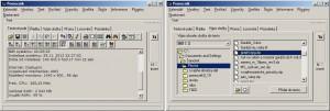 Jednoduchý textový editor či výpis obsahu složek