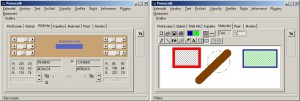 RGB mixování či jednoduché kreslení v modulu Grafika