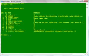 Procházení registru Windows v rozhraní PowerShell