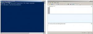 Klasické rozhraní PowerShell a vývojové prostředí ISE