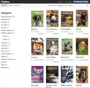 Výběr časopisů v kategorii Příroda a zvířata s cenami za 1 číslo