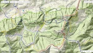 Na Slovensku je i reliefní turistická letní mapa