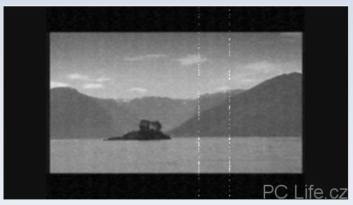 Přidání efektu starého filmu s šedým obrazem