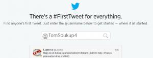Tweet Tool snadno najde Váš první tweet