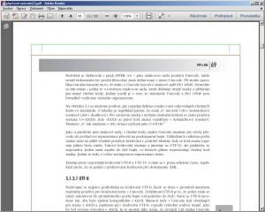 20stránková ukázka o podpoře Unicode v PHP z knihy PHP a XML