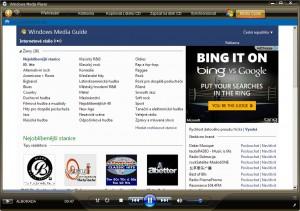 Media Guide umožní poslouchat rádia z celého světa přímo ve WMP