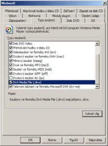 Formát DVR nemá valný význam, nativní podpora DVD by byla přínosnější