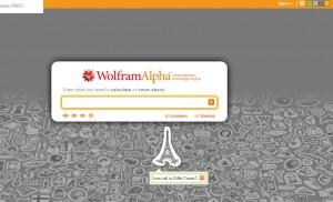 WolframAlpha vypadá jako vyhledávač, nabízí však mnohem více