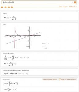 Řešení lineární rovnice nabízí mnohem více než jen vypočtení řešení